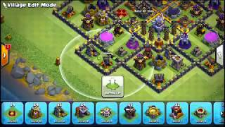 TH11 Trophy/Farming base 2018/COC Best TH11 Base Layout Titan/Legend  League with gear ups