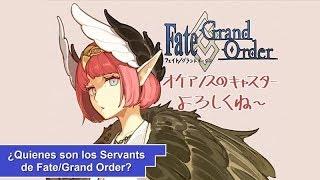¿Quienes son los Servants de Fate/Grand Order? [Parte 8] (192-198)