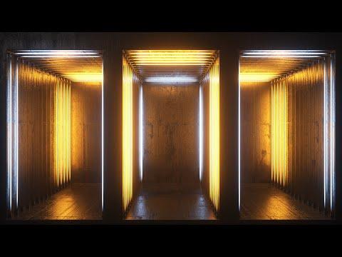 Neon Rooms 2 VJ Loops Pack / 54 VJ Loops 1080p / 4K