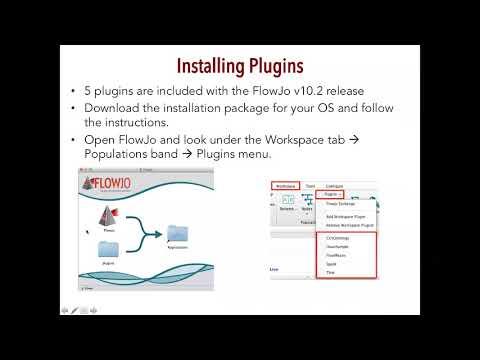 Concatenation and tSNE in FlowJo Webinar