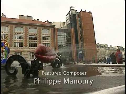 Philippe Manoury - Michigan Trio - The Verdehr Trio