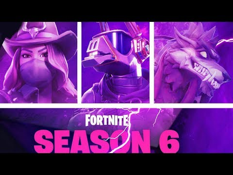 FORTNITE SEASON 6 COUNTDOWN  + GAMEPLAY! (FORTNITE NEW SEASON)