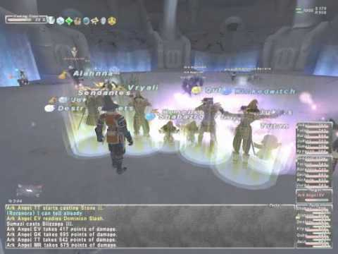 Ffxi Divine Might By Fenrir Blms Youtube