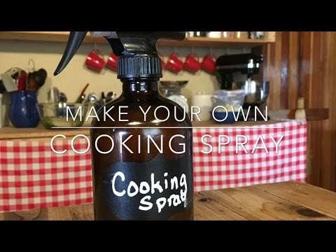Make Your Own Healthy Cooking Spray