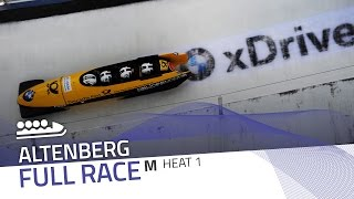 Altenberg | BMW IBSF World Cup 2016/2017 - 4-Man Bobsleigh Heat 1 | IBSF Official