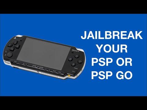PSP Jailbreak Tutorial Guide Install Games Memory Card 1000 2000 3000 PSP Go