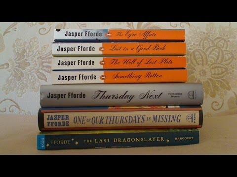 Giveaway Winner  / Jasper Fforde books (used)