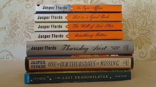 Giveaway Winner  / Jasper Fforde books (used)