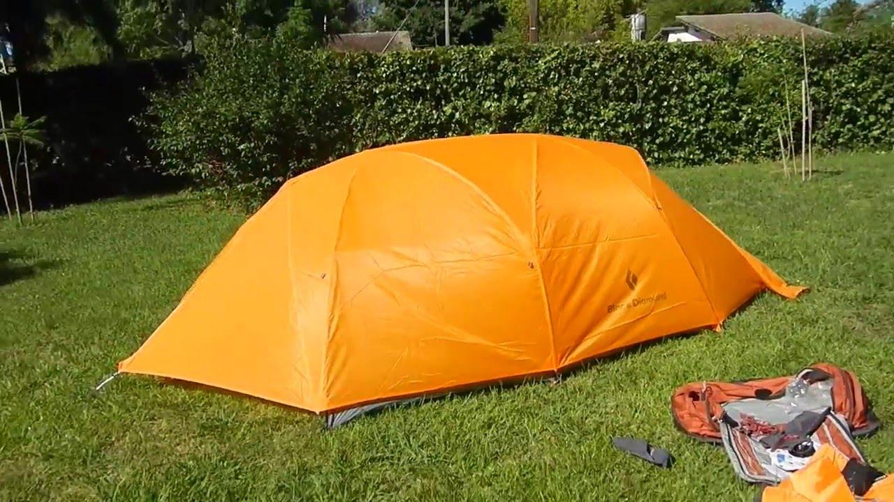 carpa black diamond squall tent & carpa black diamond squall tent - YouTube