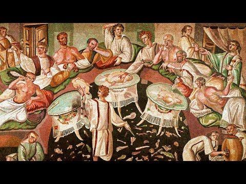 Древнеримская кухня (рассказывает Эльвира Насибуллина)
