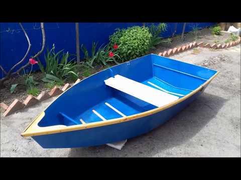 Моя лодка из фанеры