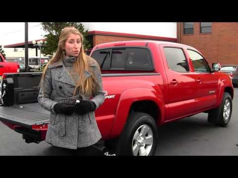 Virtual Walk Around Video of a 2013 Toyota Tacoma TRD Sport 4WD at Titus Will Toyota in Tacoma, WA w