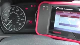 BMW 1 Series Airbag Diagnose & Reset E81 E82 E87 E88 CRP123 VII+