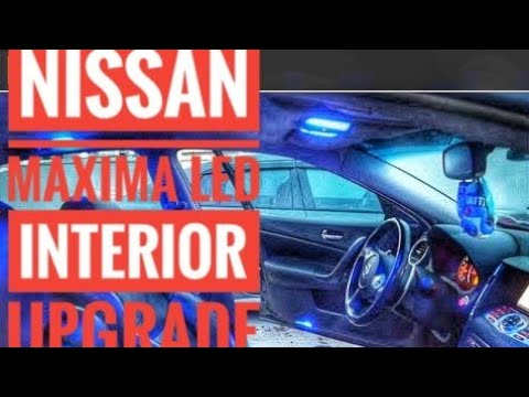 Nissan Maxima Led Interior And Exterior Blue Lights