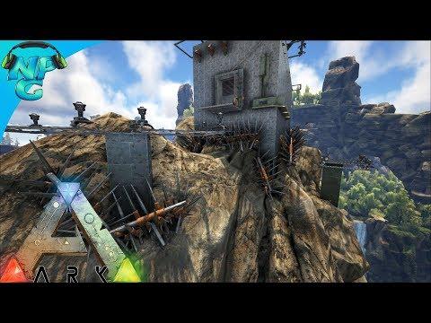World War ARK - Hilarious Raid on the Mountain Top Base! - ARK Survival Evolved S2E6