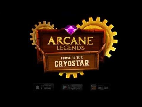 Arcane Legends: Curse Of The Cryostar Expansion Trailer