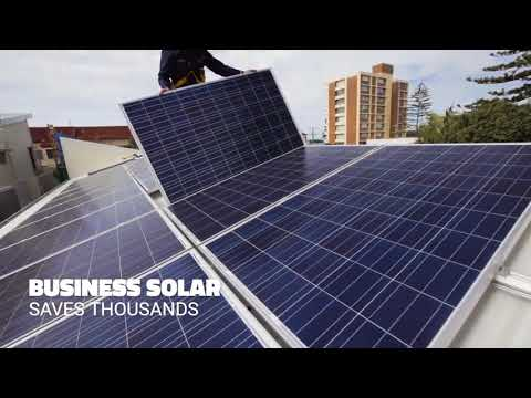 Solar For Your Business - Long Term Stability Against Rising Energy Prices