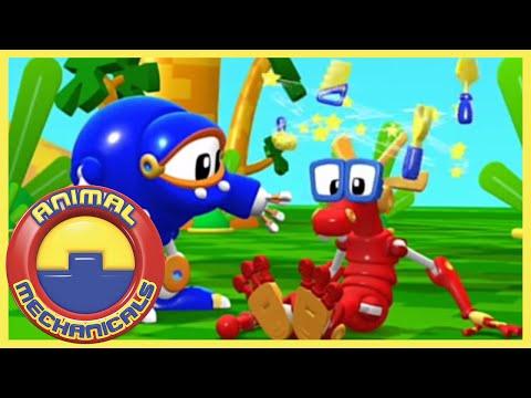 🐸 🤖 Animal Mechanicals 🐸 🤖 1 HOUR! Full Episode Compilation 🐸 🤖 Cartoons for Children 🐸 🤖