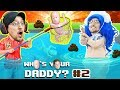 WHO'S YOUR DADDY #2: FGTEEV Saves Swimming Baby Pool Party! (Video Game + Skit)