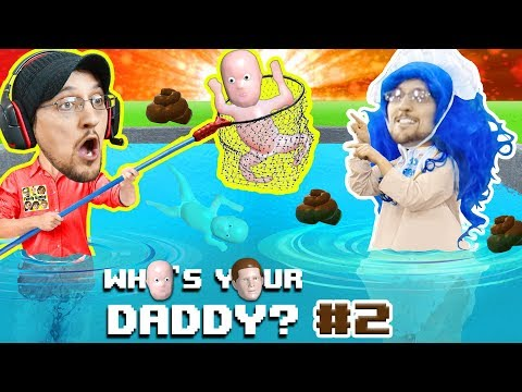Thumbnail: BAD BABY POOPS EVERYWHERE! WHO'S YOUR DADDY 2! Super Dad saves Drowning kids in Pool! (FGTEEV UGLY)