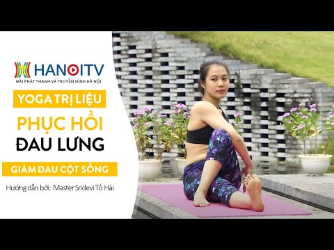 Yoga Therapy | Yoga chữa bệnh thoát vị đĩa đệm | How To Treat Herniated Disc with Yoga