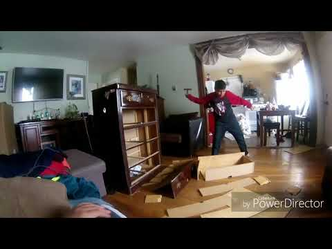 Destroying the cabinet