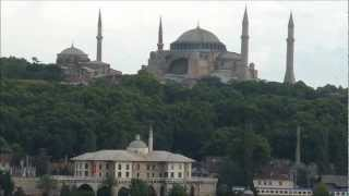 Viewing Istanbul from Deck of Celebrity Equinox Cruise Ship