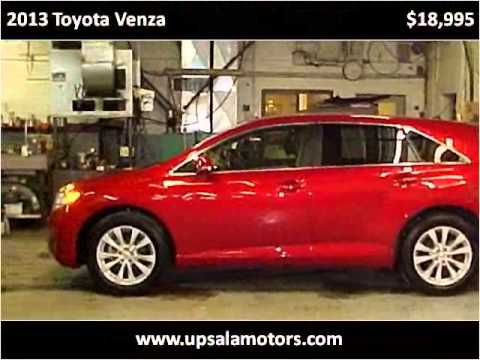 2013 Toyota Venza Used Cars St Cloud Mn Youtube