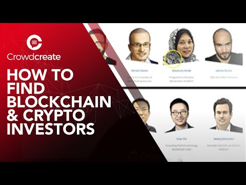 How to Find Blockchain & Crypto Investors