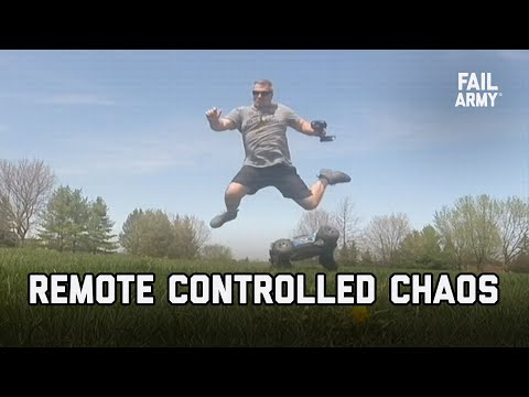 Remote Controlled Chaos (September 2020) | FailArmy - Видео онлайн