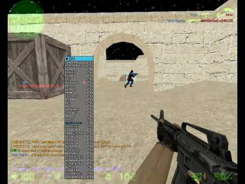 CS 1.6 cheat aimbot working in zombie servers! [ECC 5.2]