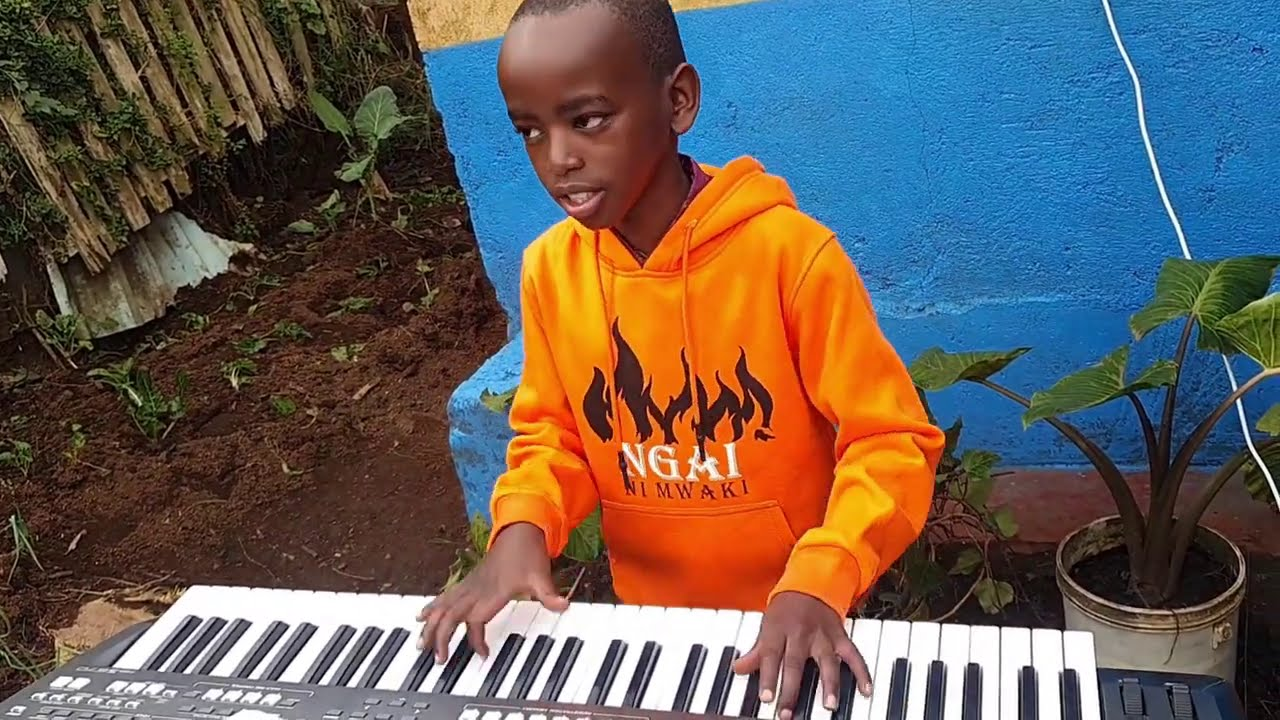 A TOUR OF KIJABE TO VISIT AMAZING AND GIFTED KIDS WHO PERFORMED MWAKI SONG LIVE.