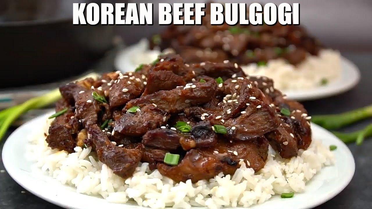 How to Make Korean Beef Bulgogi - Sweet and Savory Meals ...
