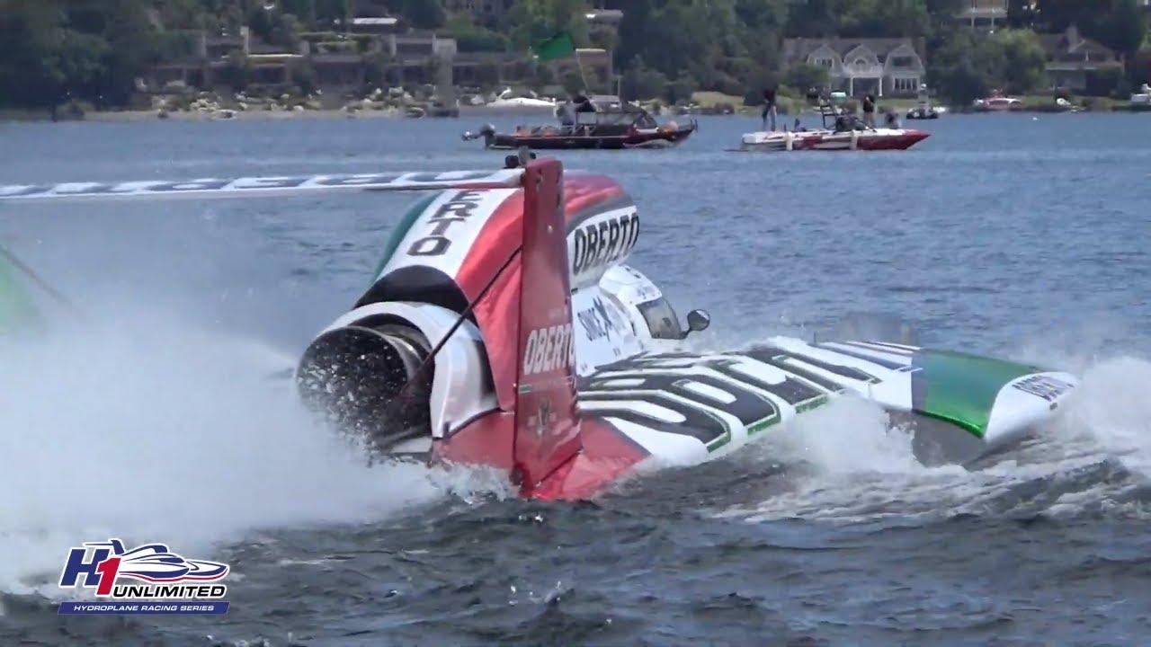 Sights & Sounds: Oberto hydroplane testing on Lake Washington