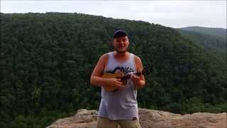 "Josh Heinrichs ""Rooftop Session"" at Hawksbill Crag, Arkansas(Whitaker Point)"