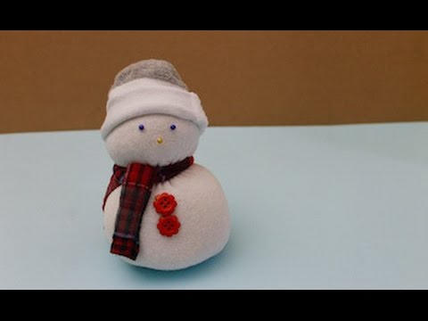no sew sock santa craft easy craft how to make a sock snowman 6963
