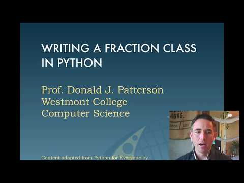 Making a Rational Fraction Class in python