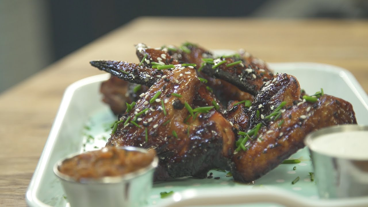 Sweet and Spicy Wings | Julie Nolke