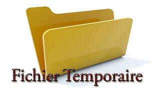 Trouver et Supprimer les Fichiers Temporaires