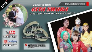 LIVE CS. GITA SWARA Kerja Sama Wo Putri Salon || THE WEDDING ROSI DAMAYANTI & MUHAMMAD YUSUF PRATAMA