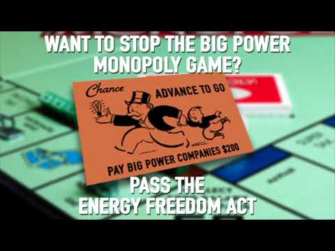 Stop the Big Power Monopoly Game
