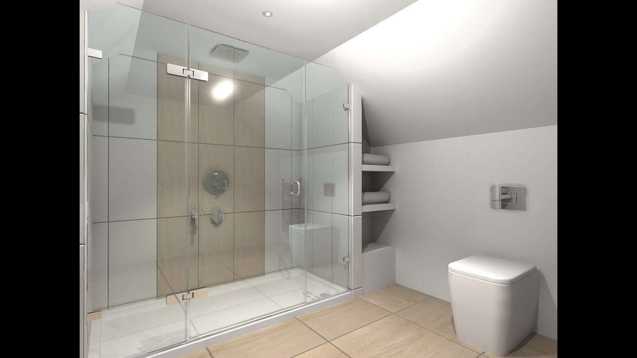 Large Shower Trays And Enclosures Youtube