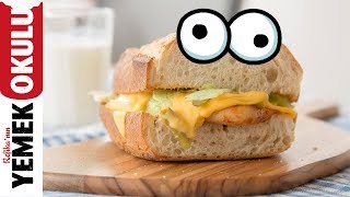 Açım, Param Yok, Gözüm de Karnım da Doysun İstiyorum Sandviçi | Öğrenci Evi Yemekleri
