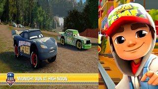 Disney Pixar Cars 3 Simulator Driven To Win VS Subway Surfers World Rio Brazil Gameplay #36