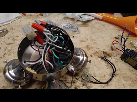 Hunter Ceiling Fan Light Fix Flicker Remove Limiter