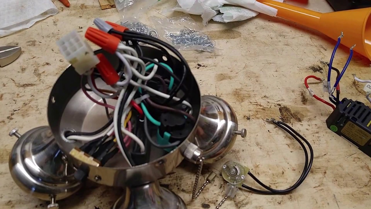 Wiring A Ceiling Rose How To Wire Correctly Including Hunter Fan Light Fix Flicker Remove Limiter Youtube