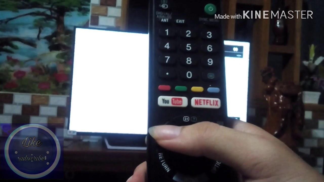 Cách kết nối wifi vô tivi Sony