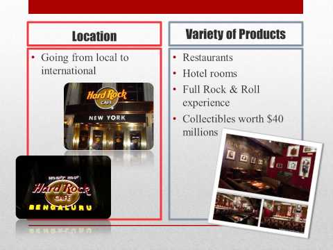 location strategies hard rock cafe video case