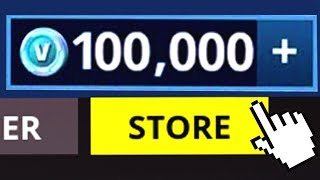 BUYING 100,000 VBUCKS TO GIVEAWAY IN SEASON 5! Fortnite Battle Royale