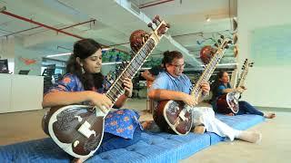 Come September on sitar and guitar By Chandrashekhar Phanse and Joslyn Braganza